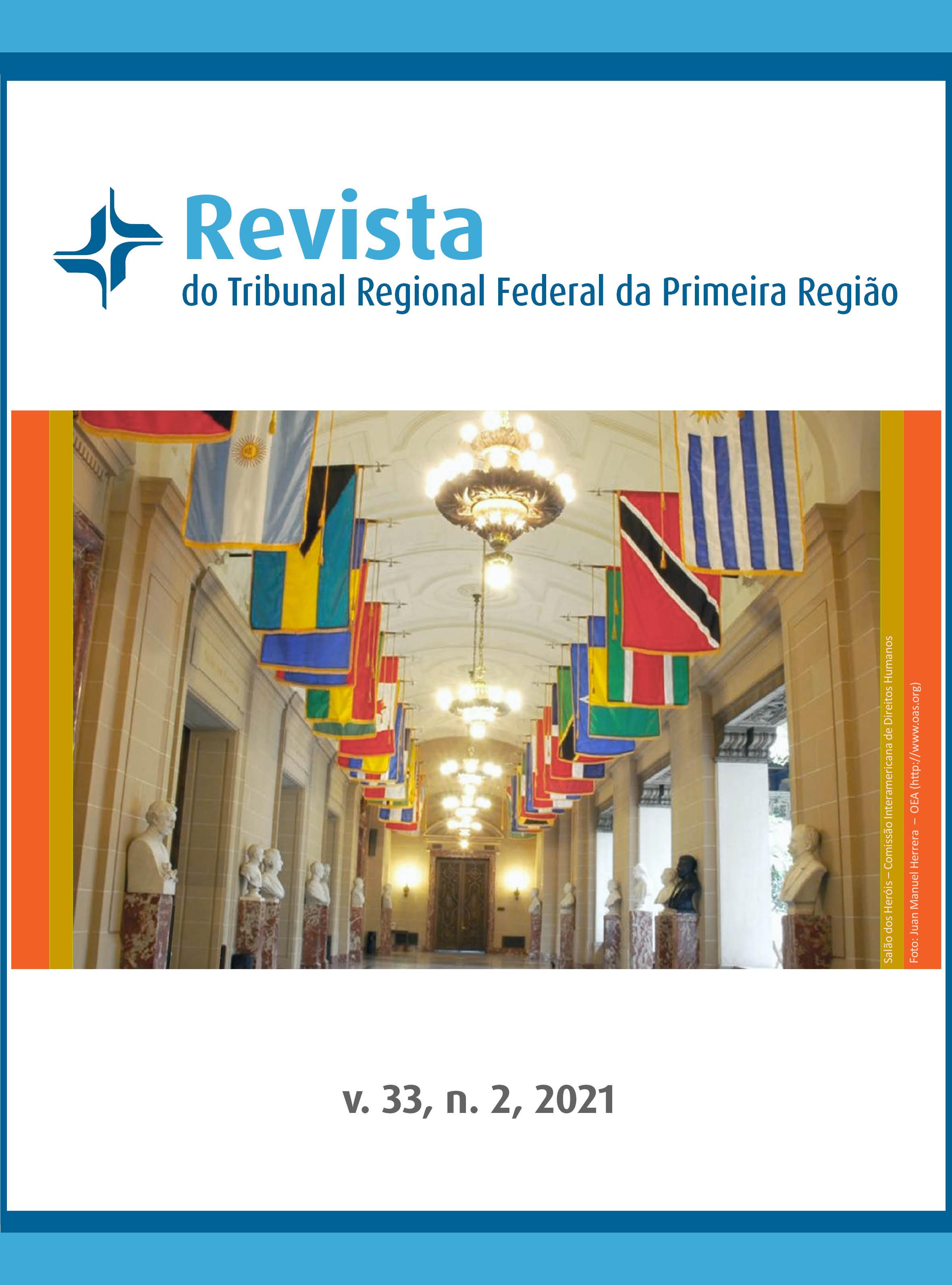Visualizar v. 33 n. 2 (2021): Revista do Tribunal Regional Federal da 1ª Região